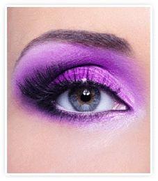 How to Make Purple Makeup?