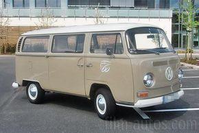 Oldtimer VW T2a Bus Bulli zum Mieten