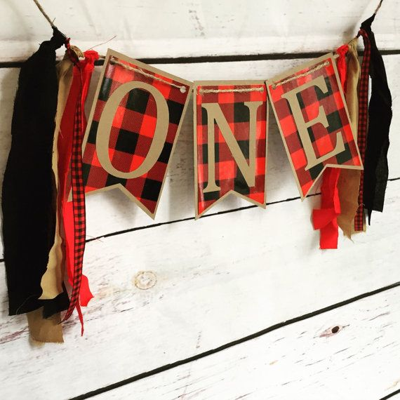 Lumber Jack birthday party, buffalo plaid birthday, boys first birthday, country birthday, rustic birthday