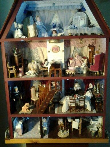 25 beste idee n over victoriaans poppenhuis op pinterest for Poppenhuis te koop