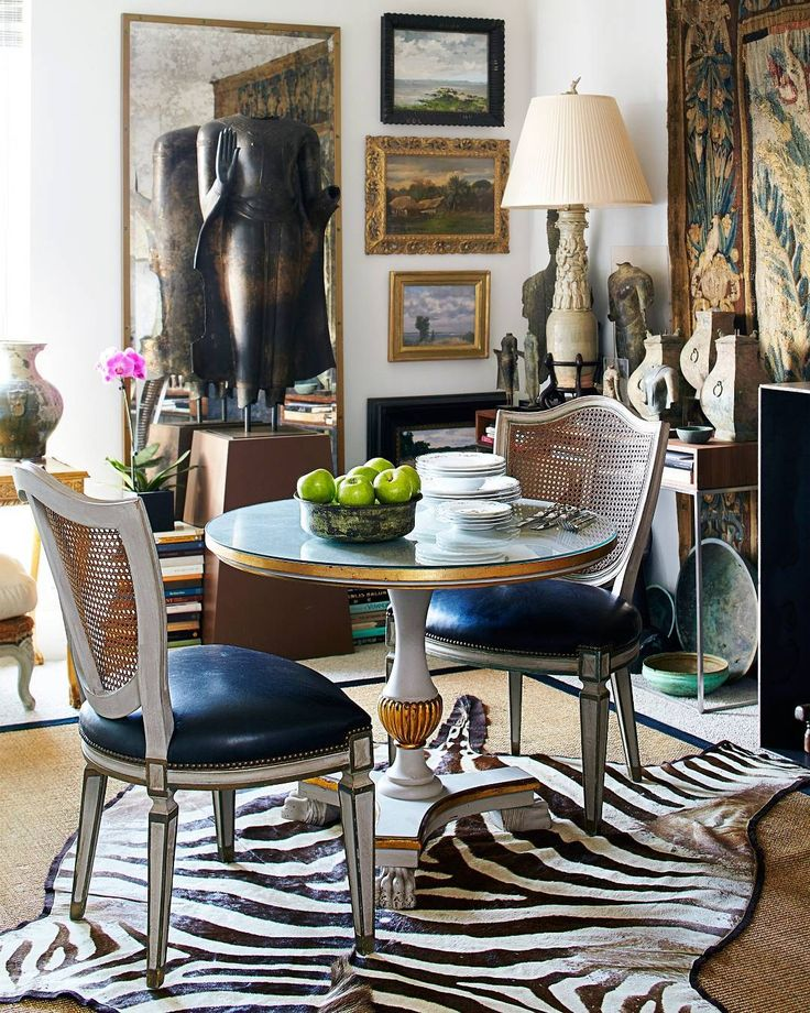 Eclectic Dining Space Small RoomsDecorating