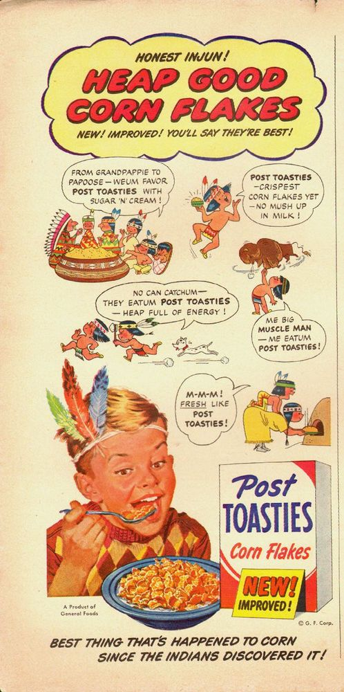1951 Vintage ad for Post Toasties`Cereal `General Foods`Art`Little Boy (030814)