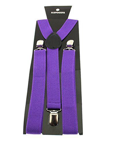 20 kr. Zac's Alter Ego® Men / Ladies Plain Purple Trousers Braces Adjustable 25mm Width Zac's Alter Ego® http://www.amazon.co.uk/dp/B00PIQJ39U/ref=cm_sw_r_pi_dp_H804wb0M7RZ0Y