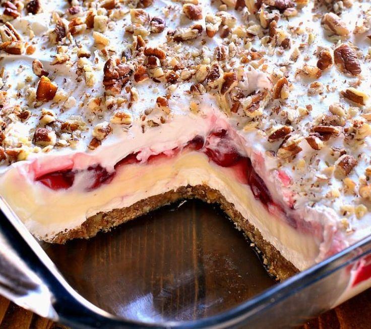 American Times |   Cherry Cheesecake Lush