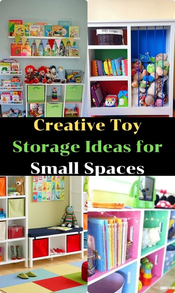 Decor Creative Toy Storage Ideas For Small Spaces Creative Toy
