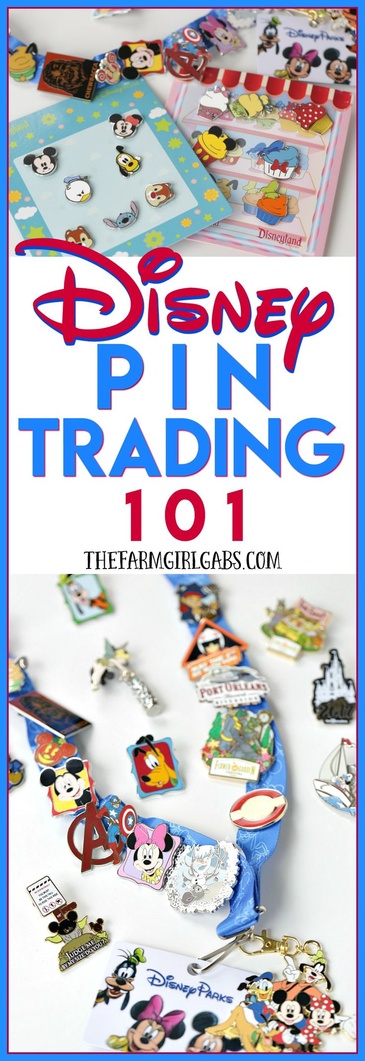 Disney Pin Trading is a fun way to collect souvenir pins from the Disney Parks! Here are the basic tips and guidelines for Disney Pin Trading 101 at Walt Disney World.