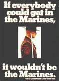 Old School USMC recruiting poster