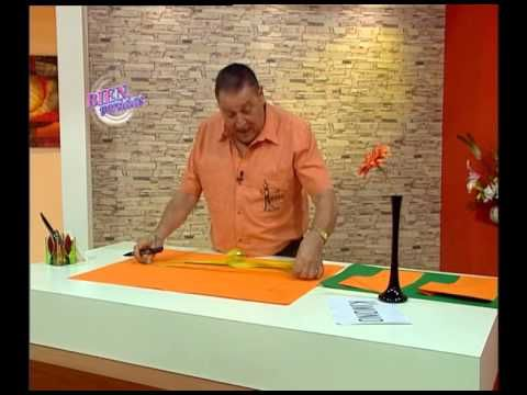 Hermenegildo Zampar - Bienvenidas TV -   Enseña a hacer un  KIMONO