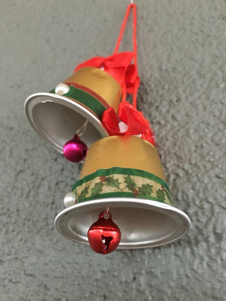 Nespresso christmas bells