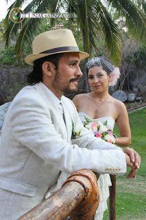 Sombrero para novio accesorio ideal para tu boda en playa por Bodas Huatulco