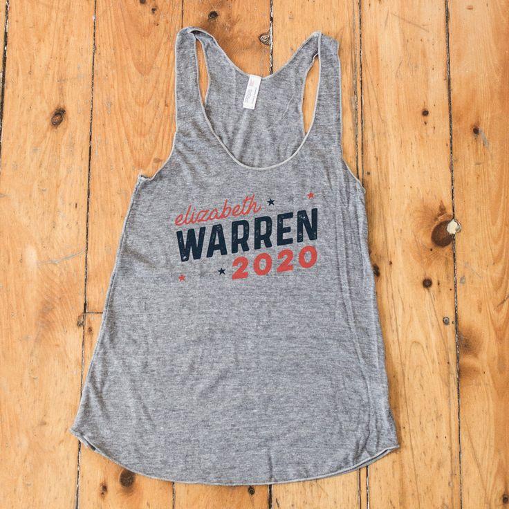 Elizabeth Warren for President 2020 Racerback Tank