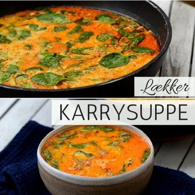 Superlækker karrysuppe med hakket oksekød, dejlige grøntsager og en skøn let krydret smag.