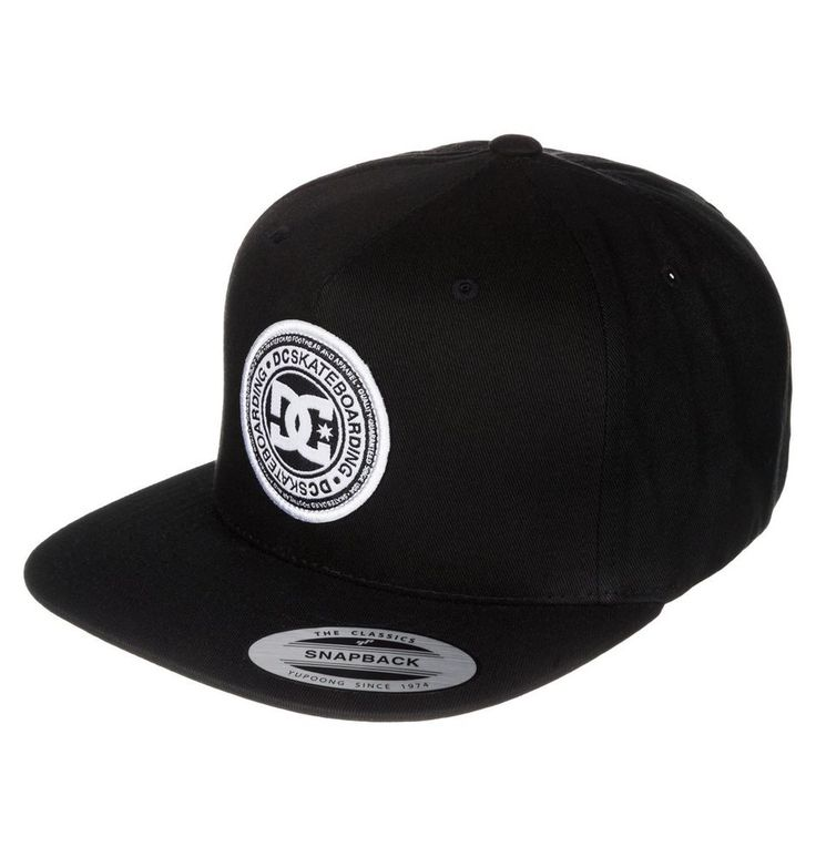 Gorra DC Shoes Stapler Anthracite Authentic Yupoong Street Urban Skate 5c6fdbc16e3