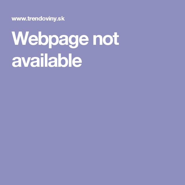 Webpage not available