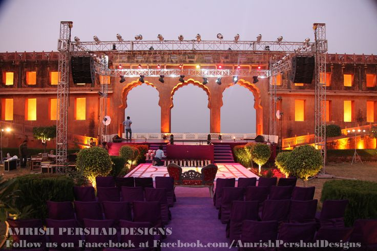 jaigarh fort decor by BnB events ....