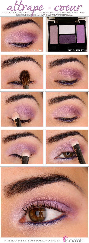Guerlain Attrape-Coeur (501) Eyeshadow Palette How-to