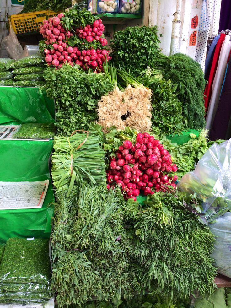 Sabzi.  Tajrish market. Tehran.