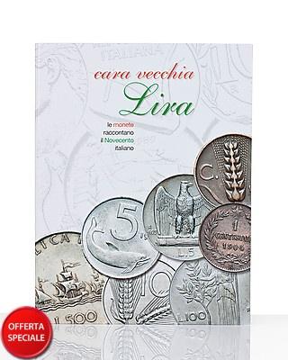"""23 monete per ricordare un secolo di storia italiana. """"Cara vecchia Lira"""" una collezione dedicata alla lira, dalle 5 lire degli anni venti alla mille lire del 1997, per ricordare quello che eravamo attraverso le schede numismatiche allegate."""