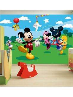 Mickey Mouse + Friends Photo Wall Mural 360 x 254 cm | Bedroom | Wallpaper