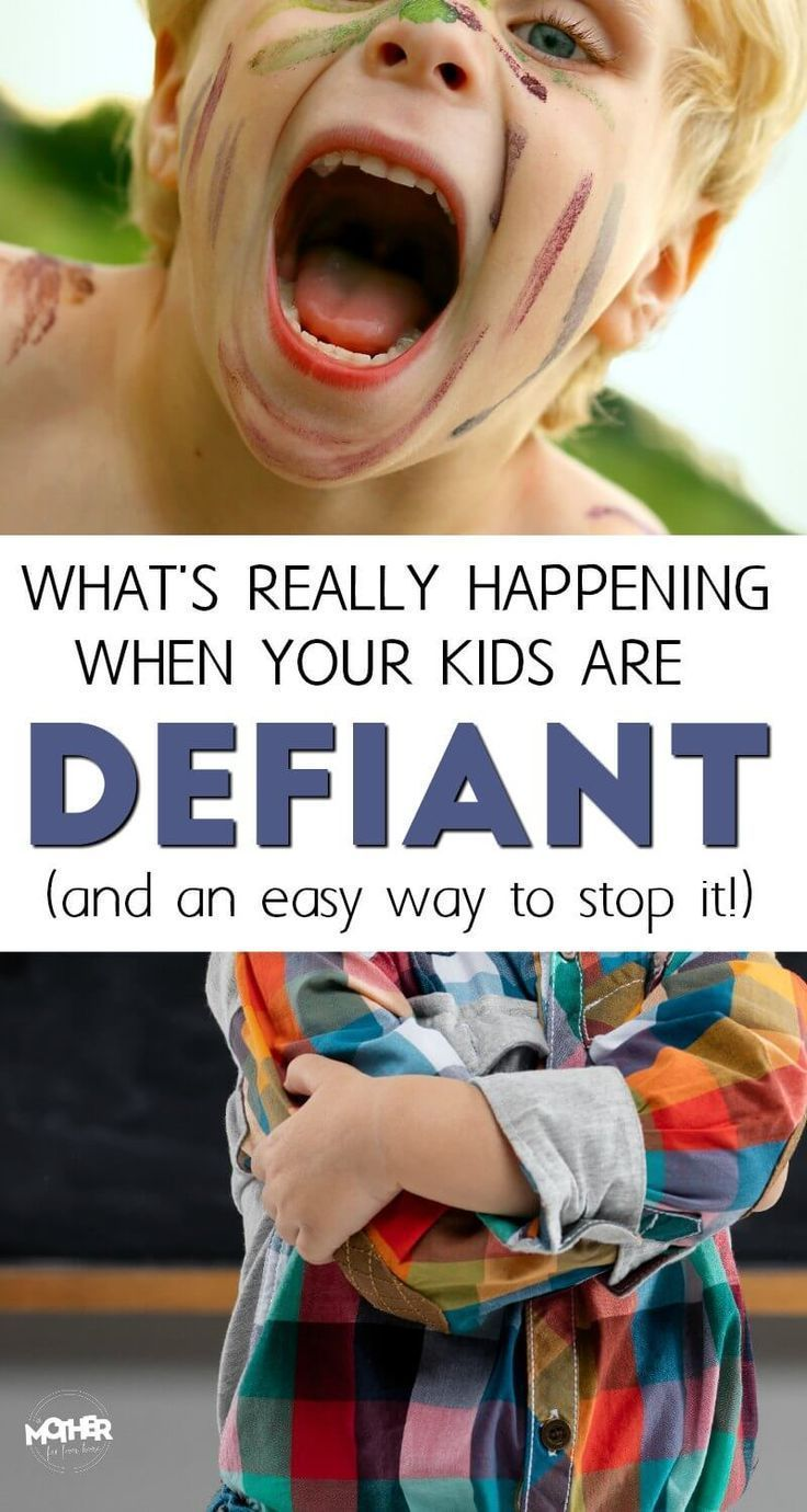 Do you have a child who acts defiant and you can't figure out what's happening? If your child is having discipline issues or being defiant, try this strategy. #parentingtipsdiscipline