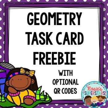 These 12 shape task cards make a great math center activity to reinforce geometry skills. You can also use them for a Roam the Room or a mini-scoot game in a small group. Enjoy!Contents:12 shape task cards with two versionsRecording sheet Answer Key~~~~~~~~~~~~~~~~~~~~~~~~~~~~~~~~~~~~~~~~~~~~~~~~~~~~~Looking for more affordable quality resources?