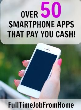 If you're looking to make money with your smartphone, here's 50 apps that you can use to make money directly on your phone!