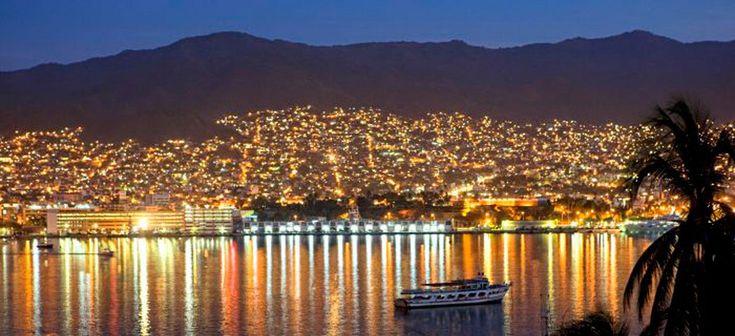 Vive el turismo en el bello puerto de Acapulco
