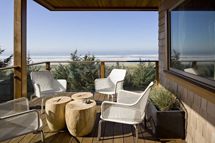 Oregon Coast HouseCoffe Tables, Beach House, Wood Design, Gardens Furniture, Interiors Design, Oregon Coast, Products Design, Outdoor Spaces, Outdoor Living Area