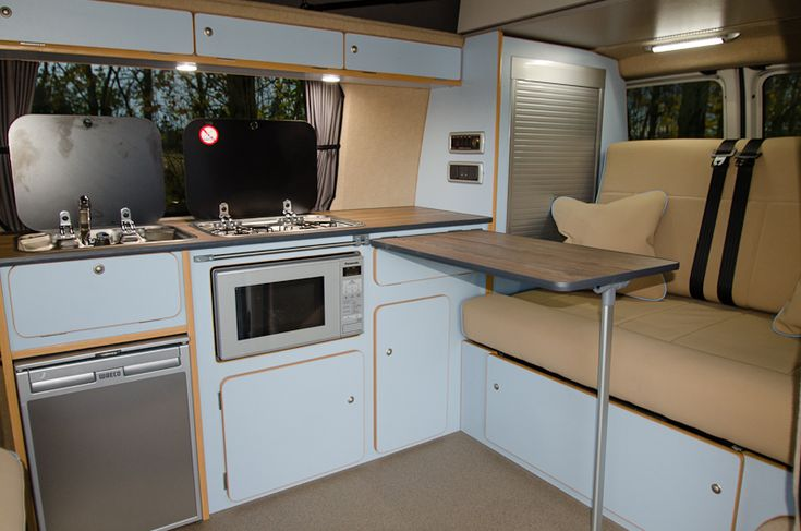 new campervan layouts VW - Google Search