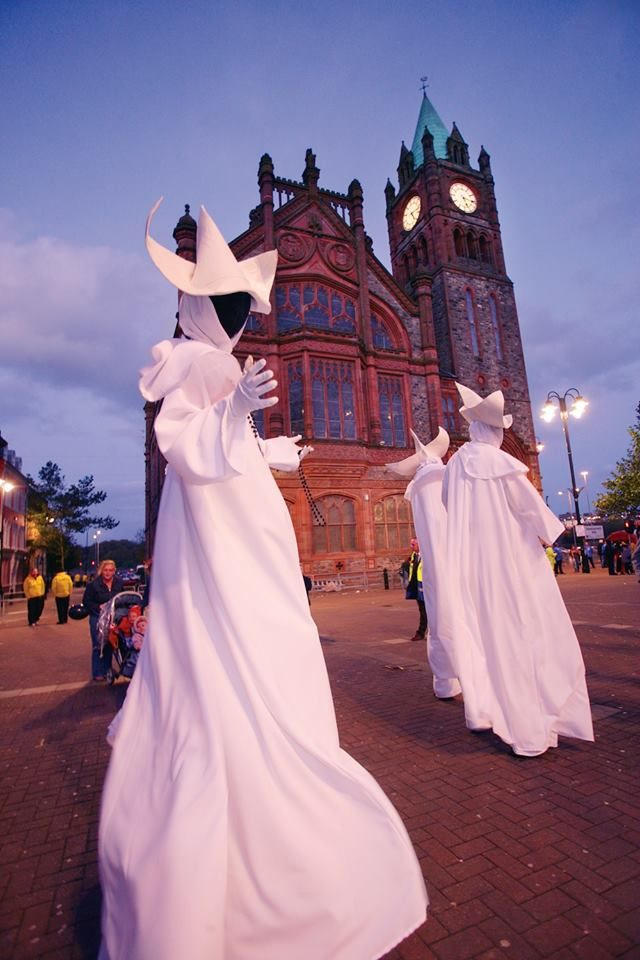 wedding venues in londonderry%0A Halloween in DerryLondonderry  Ireland for the Banks of the Foyle  Halloween Carnival