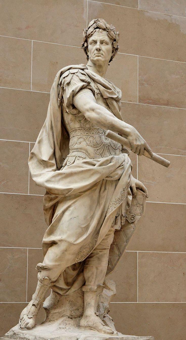 Nicolas Coustou. Gaius Iulius Caesar - 1696. Louvre Museum