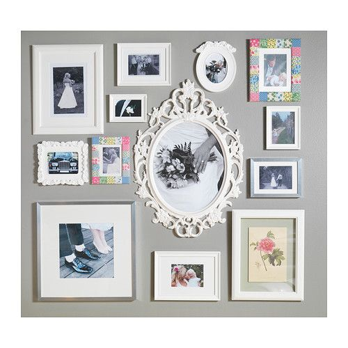 create a memorable photo collage with ikea picture frames use the ung drill frame in