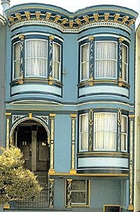 1908 Edwardian, San Francisco.  The exterior of this home was painted by  Bill Weber and Tony Klaas of Mirage Painting.