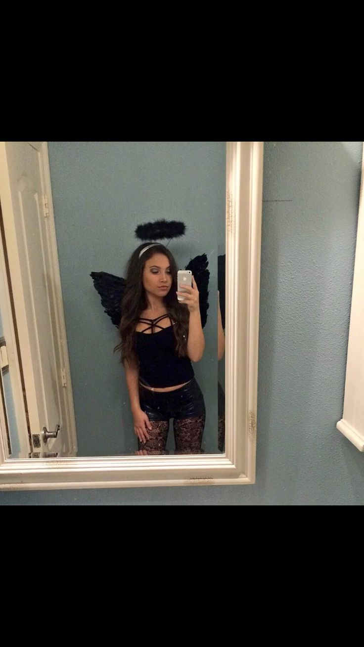 Black angel costume