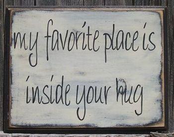 Inside your hug <3