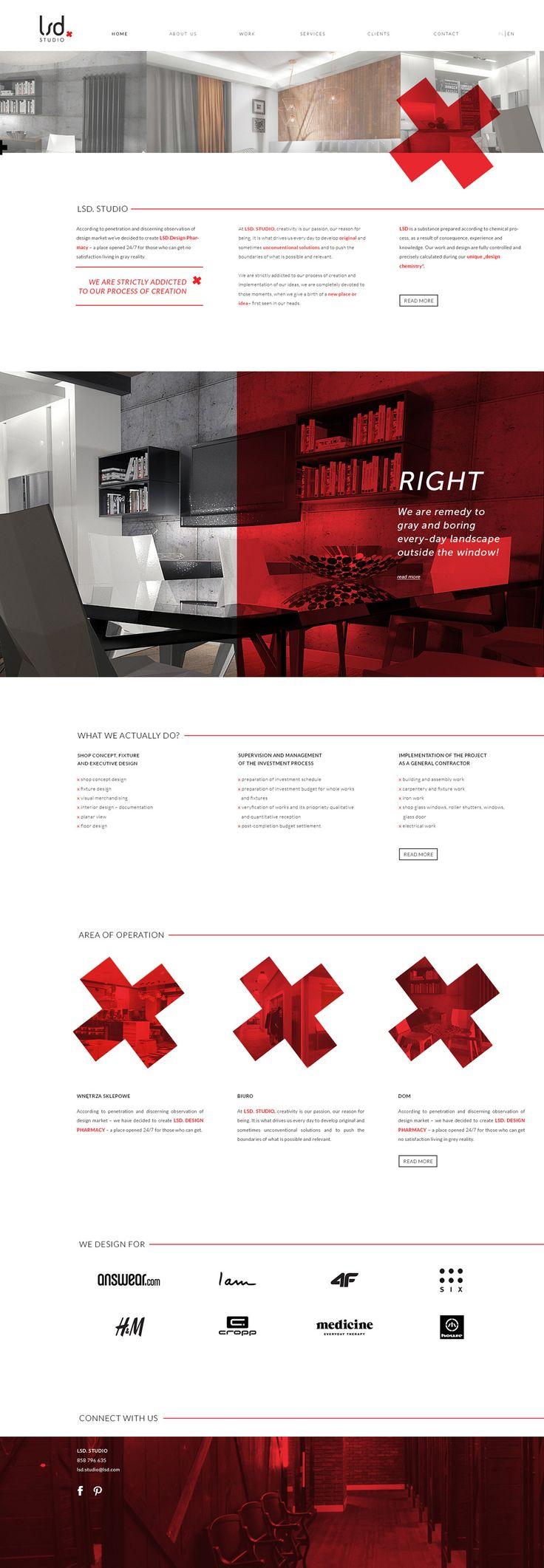 LSD Studio #design #UI #website #web #pleo