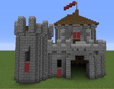 Small Castle - GrabCraft - Your number one source for MineCraft buildings, blueprints, tips, ideas, floorplans!