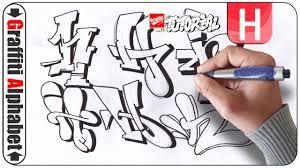 Výsledek obrázku pro Graffiti abeceda