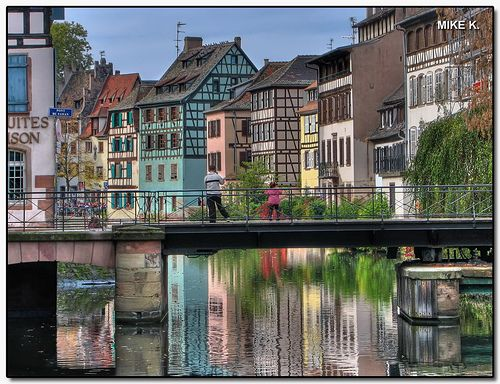'Petite france' area, Strasbourg, France