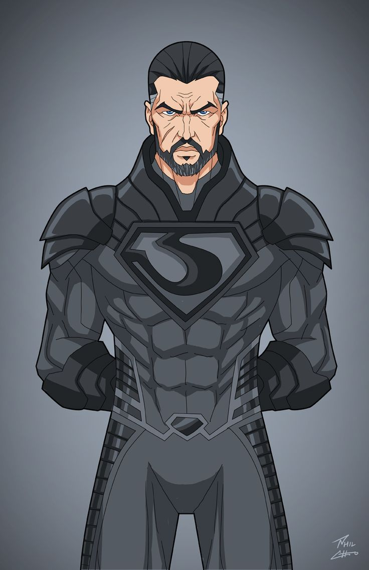 General Zod by phil-cho art
