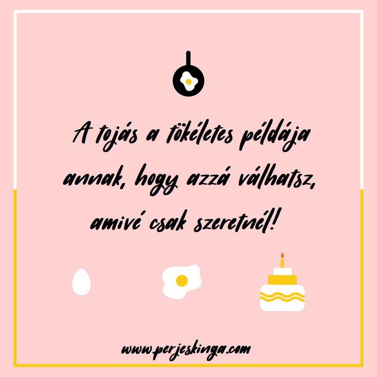 Azzá válhatsz, amivé csak szeretnél! || #tojás || www.perjeskinga.com