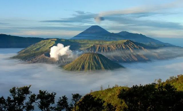 Mount Bromo - Popular Nature Attractions in Indonesia
