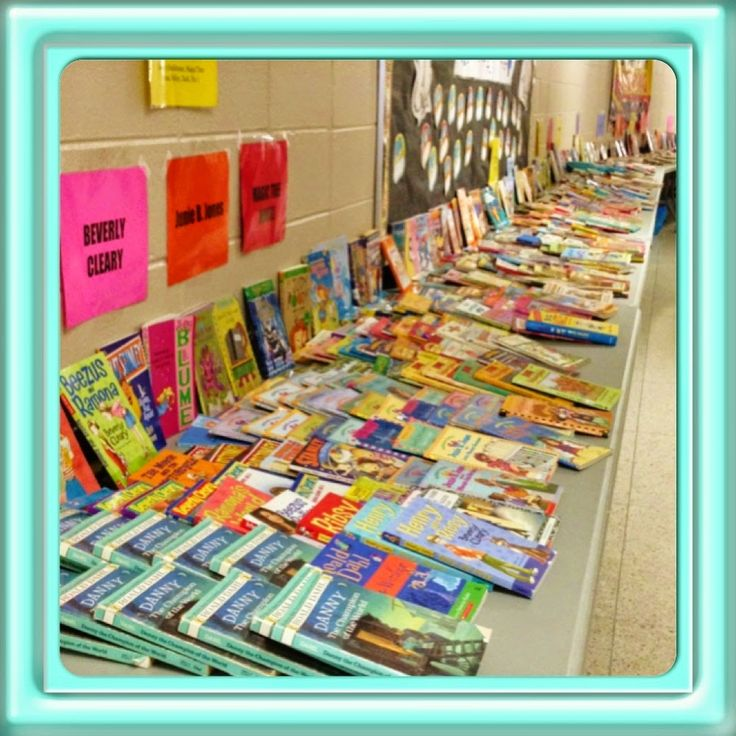 Give a Book! Take a Book! Let's Swap! - Nice description of how to handle a book swap at school.