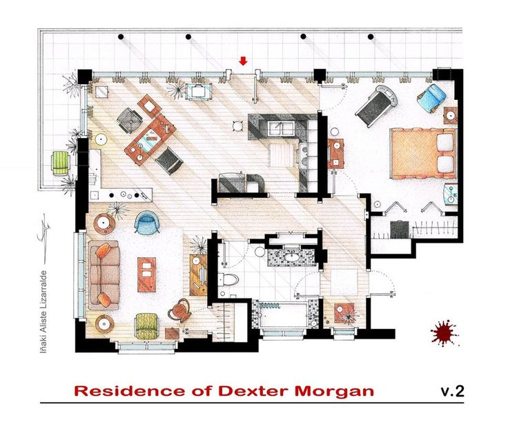 Residence of Dexter Morgan | DESIGN on the ROCKS