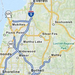 Map of Bothell WA | Bothell Washington Hotels, Restaurants, Airports | MapQuest