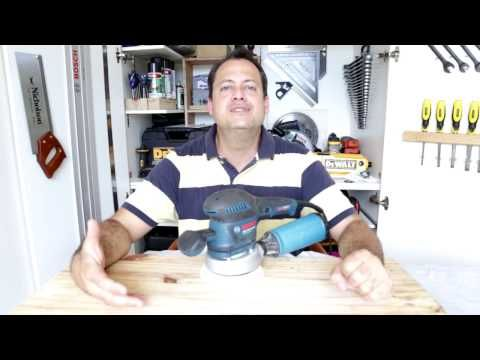 Review da lixadeira roto-orbital (excêntrica) GEX 125-150 Bosch - YouTube