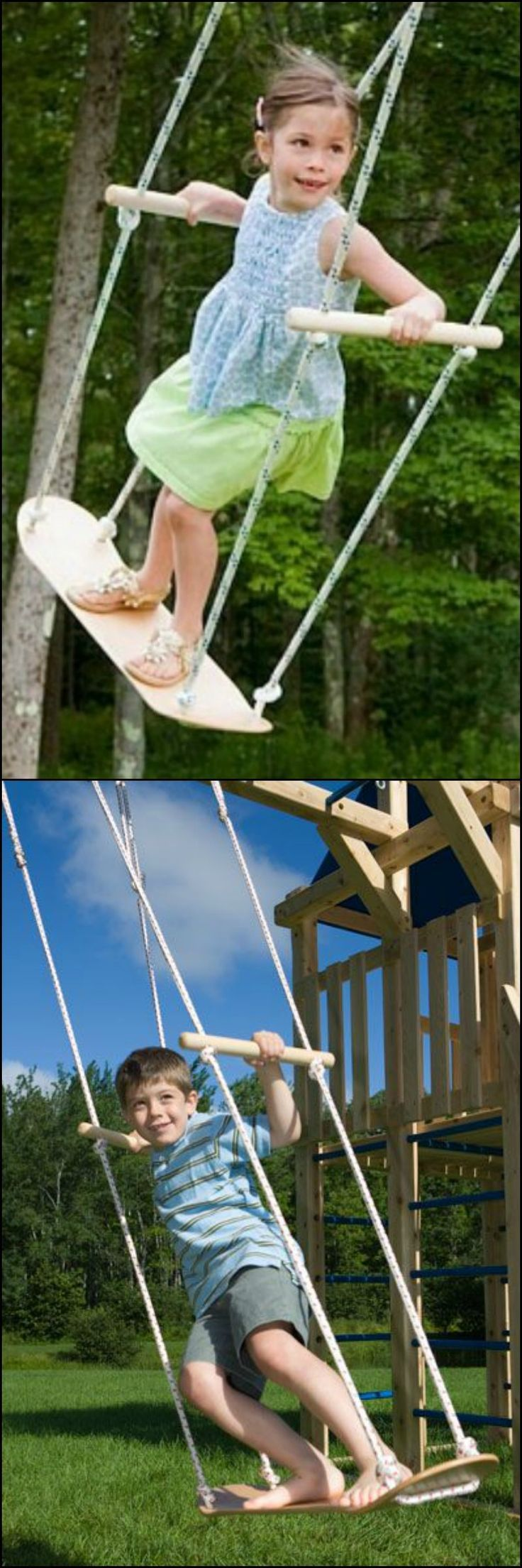 Are the children begging for a swing? Overlook the costly swing set, all you want t…