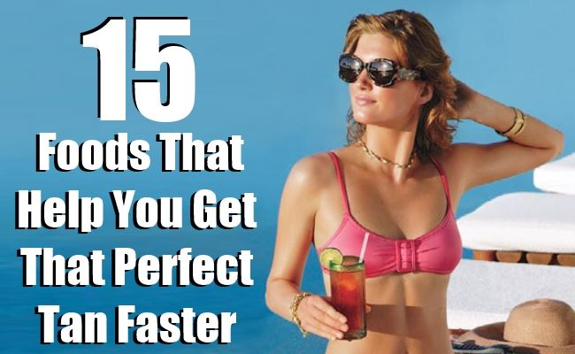 Top 15 Foods That Help You Get That Perfect Tan Faster   Top DIY Health & Home Remedies