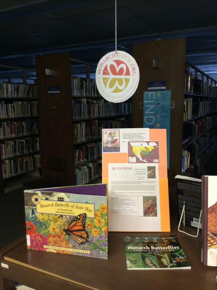 Did You Know? Monarch butterfly populations are declining due to loss of habitat. To assure a future for monarchs, conservation and restoration of milkweeds need to be a national priority. Grayson County Public Library has a wonderful #shelfie with butterfly books and information right now. Stop by or call to reserve, or visit www.monarchwatch.org to learn more! #wythegrayson #library #bringbackthemonarchs #loveyourlibrary