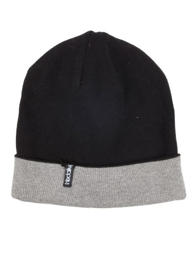 Smurpher II Beanie [black-anthra] // IRIEDAILY FALL WINTER 2015 COLLECTION – WE CAN BE HEROES. // OUT NOW: http://www.iriedaily.de/